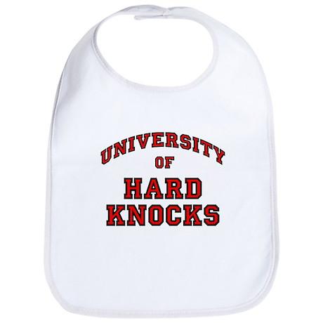 University Hard Knocks Bib