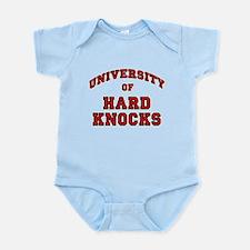 University Hard Knocks Infant Bodysuit