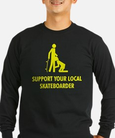 support your local skateboard T