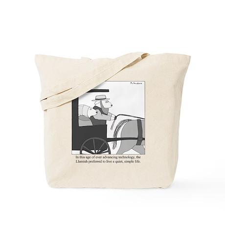 Llamish Tote Bag