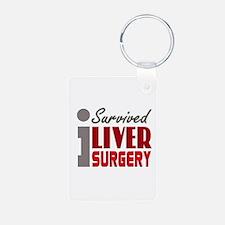 Liver Surgery Survivor Keychains