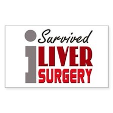 Liver Surgery Survivor Decal