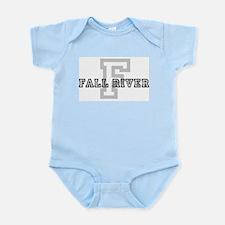 Letter F: Fall River Infant Creeper