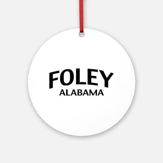 Foley Alabama Ornament (Round)