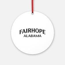 Fairhope Alabama Ornament (Round)
