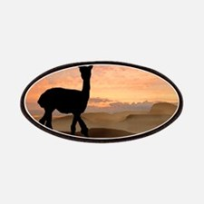 Alpaca Sunset Patches