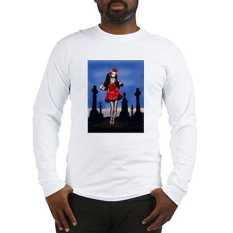 Dia de los Muertos Pin-up Long Sleeve T-Shirt
