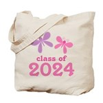2024 Girls Graduation Tote Bag