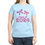 2024 Girls Graduation Women's Light T-Shirt