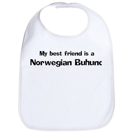Best friend: Norwegian Buhund Bib