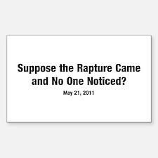Rapture Sticker (Rectangle 10 pk)