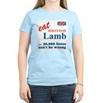 Slam in the Lamb Women's Pink T-Shirt