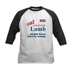 Slam in the Lamb Kids Baseball Jersey