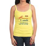 Slam in the Lamb Jr. Spaghetti Tank