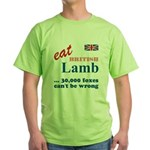 Slam in the Lamb Green T-Shirt