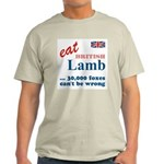 Slam in the Lamb Ash Grey T-Shirt
