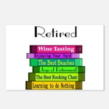 Retired Professionals Postcards (Package of 8)
