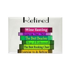 Retired Professionals Rectangle Magnet