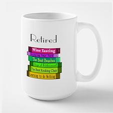 Retired Professionals Large Mug