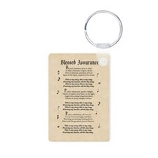 Blessed Assurance Keychains