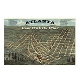 Atlanta gone with Postcards