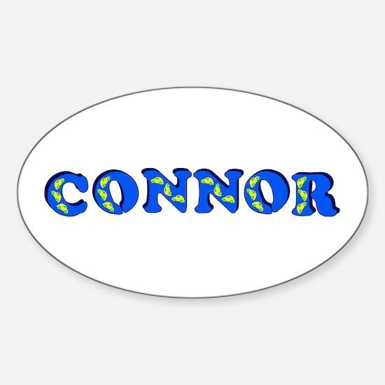 Connor Sticker (Oval)