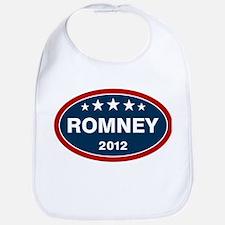 Romney 2012 [blue] Bib