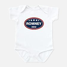 Romney 2012 [blue] Infant Bodysuit
