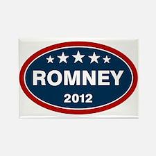 Romney 2012 [blue] Rectangle Magnet