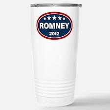 Romney 2012 [blue] Travel Mug