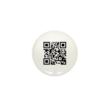 QR Code - You are a HUGE Nerd Mini Button (100 pac