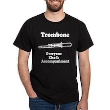 Trombone Gift Music Joke Dark T-Shirt