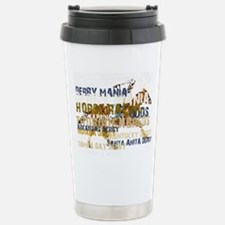 Derby Mania Stainless Steel Travel Mug
