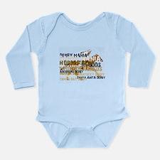Derby Mania Long Sleeve Infant Bodysuit