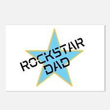 Rockstar Dad Postcards (Package of 8)