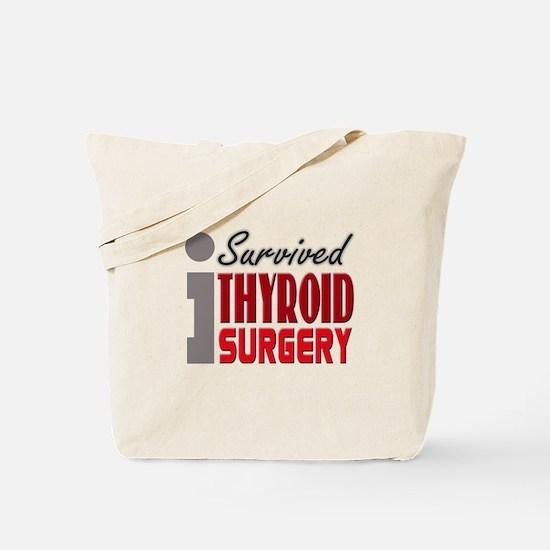 Thyroid Surgery Survivor Tote Bag