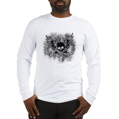 Skull and Guns Long Sleeve T-Shirt
