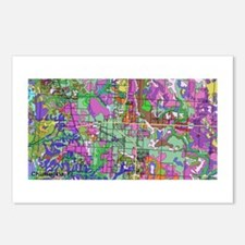 Soil Map - Chumuckla Postcards (Package of 8)