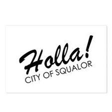 Holla! City of Squalor Postcards (Package of 8)