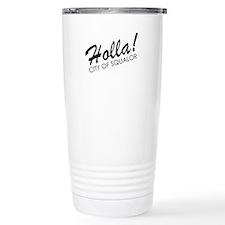 Holla! City of Squalor Travel Mug