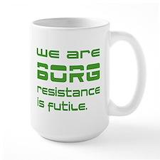 Star Trek - We are BORG green Mug