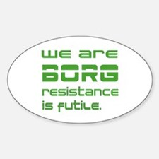 Resistance is futile stickers resistance is futile - We are the borg quote ...