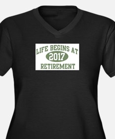 Life begins 2017 Plus Size T-Shirt