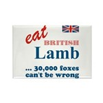 Slam in the Lamb Rectangle Magnet (10 pack)
