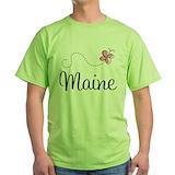 Maine Green T-Shirt