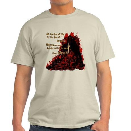 Worse than Death Light T-Shirt