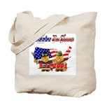 Remember the Heroes Firemand  Tote Bag
