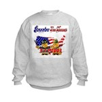 Remember the Heroes Firemand  Kids Sweatshirt