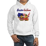 Remember the Heroes Firemand Hooded Sweatshirt