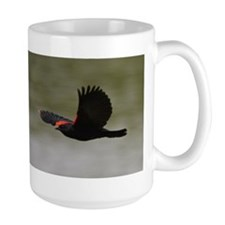 Redwing Over the River Mug